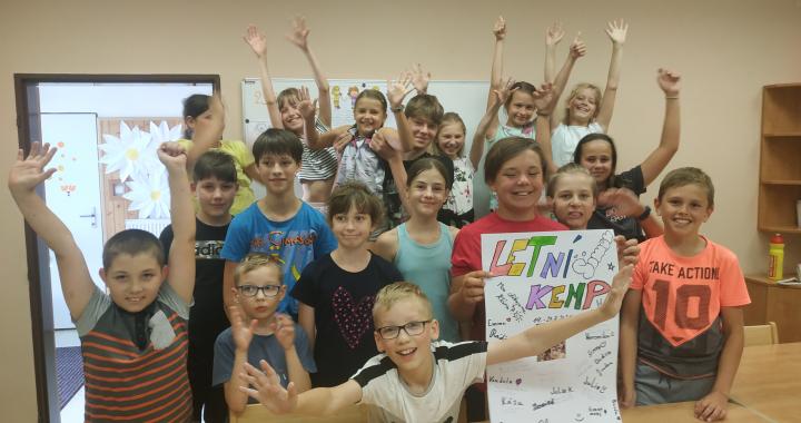 Bezva Letní kemp na ZŠ Slovan v Kroměříži plný her i vzdělávání