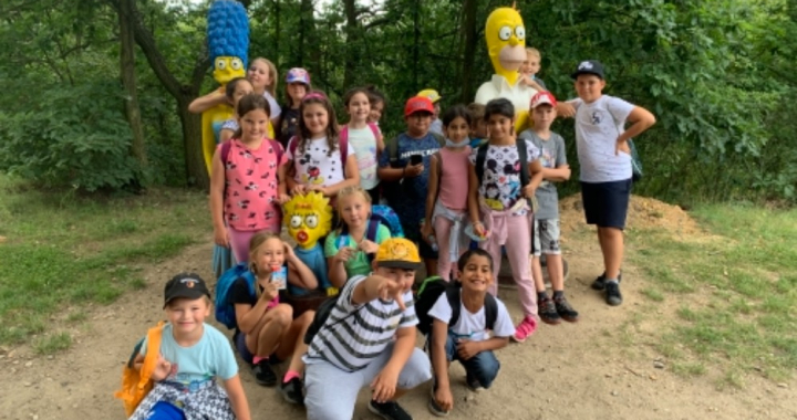 Žáci ZŠ Lidická si letní vzdělávací kemp užili